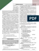 RESOLUCIÓN ADMINISTRATIVA Nº 000001-2020-P-PJ
