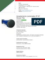 Acoplamento (extensão) IP 67 Shock Tite - S4556W