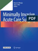 2018 Book MinimallyInvasiveAcuteCareSurg