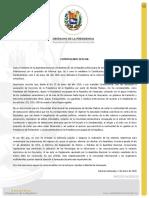 Presidencia Encargada Pide a La Comunidad Internacional Prestar Atencion a Venezuela Este 5Ene