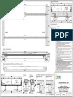 Disegno n.1A_Soluzione Multi-trave Con Profilo Laminato 2x2 HL1000A-Qualità Acciaio S460-Traverso in c.A