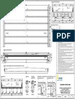Disegno n.2A_Soluzione Multi-trave Con Profilo Laminato 6 HE1000A-Qualità Acciaio S460-Traverso in c.A