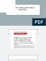 Comparison of 2-Dose and  3 doses HPV vaccination.pptx