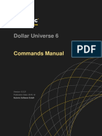 Dollar Universe Command Manual v6.5