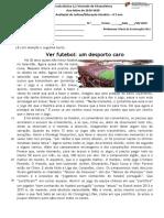 F_A_leitura_crónica - O Futebol