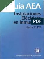 Guia AEA Instalaciones Electricas En Inmuebles Hasta 10 Kw