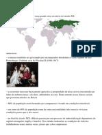 REVOLUÇÃO RUSSA - slide e textos