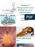 Module II - Managerial Decision Making Processes and Individual Differences.pdf