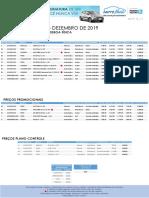 2019_12 - Tabela de Preços - CARRO FÁCIL