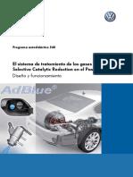 540-El Sistema de Tratamiento de Los Gases de Escape Selective Catalytic Reduction en El Passat 2015