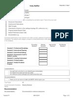 kelly steffen - teacher p1 - teacher summative evaluation report