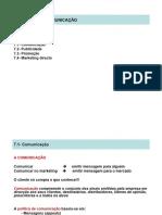 7. POLÍTICA DE COMUNICAÇÃO Comunicação 7.2- Publicidade 7.3- Promoção 7.4- Marketing directo - PDF