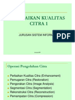 PERBAIKAN KUALITAS CITRA 1