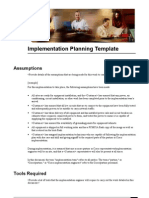 Cisco Implementation Planning