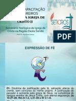 HISTÓRIA DA IGREJA DE CRISTO II