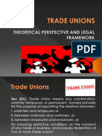 3 TRADE UNION-Theoritical perspective and legal framework