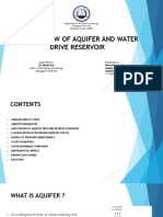 aquifer and water drive