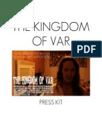 The Kingdom of Var (2019 horror film) - Press Kit