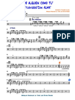 POR ALGUIEN COMO TU YTURVIDES VILCHEZ -  - Percusión