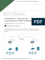 Grandstream - Conectar dos conmutadores IP-PBX