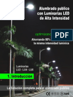 Luminarias Led Streetlight Intro Espanol