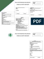 Surgical Safety Checklist Gigi