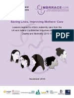 MBRRACE-UK Maternal Report 2019 - WEB VERSION (1)