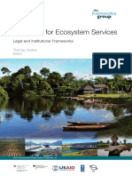 2009. Greiber. Payments for ecosystem Services, legal and institutional frameworks.pdf