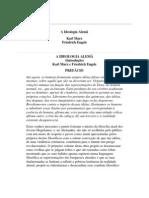 A IDEOLOGIA ALEMÃ - Marx e Engels