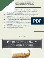 PUEBLOS INDÍGENAs,  COLONIZADORES y Romanos modificado.ppt