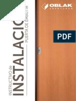 Como instalar / reparar tu puerta OBLAK corrediza