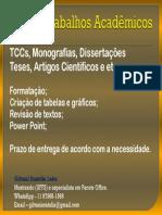 Formatação de trabalhos acadêmicos 27_10_2019