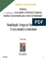 """Reabilitação """"Amiga do Património"""""""