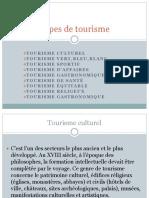 Types de tourisme 2