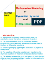 Mathematical Modeling of Dynamical Systems and Its Representation