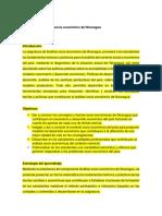 Analisis socio economico de Nicaragua-2