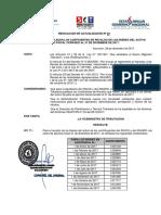 Resolución de Actualización Nº 03-17