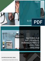 EL EMBARAZO PRECOZ