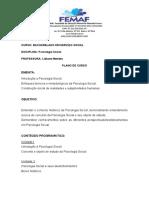 EMENTA DE PSICOLOGIA SOCIAL (1)