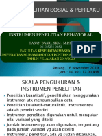 17-11-2019-INSTRUMEN PENELITIAN BEHAVIORAL