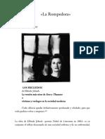 Artículos seleccionados La Rompedora 2018