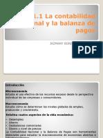 La contabilidad nacional y la balanza de pagos