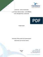Relatório de Projeto Social Jaison.doc