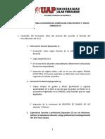 INSTRUCTIVO PARA REVISIÒN DE CV Y NUEVO FORMATO C9