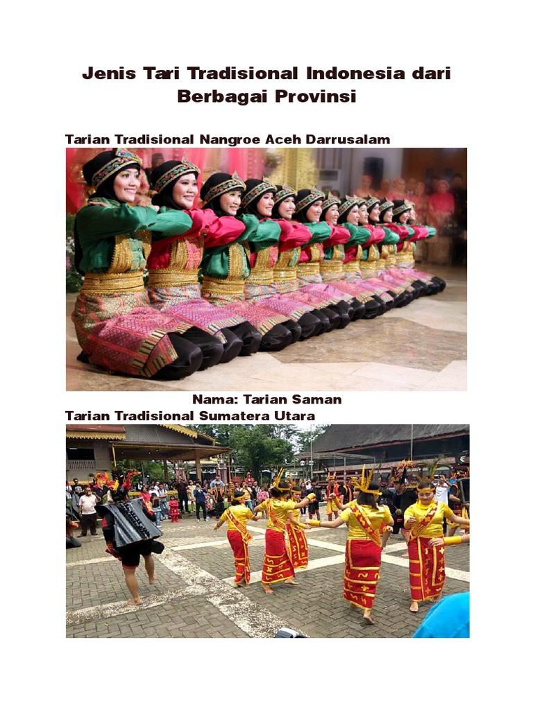 Jenis Tari Tradisional Indonesia Dari Berbagai Provinsi