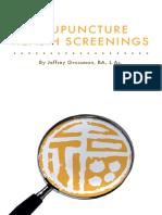 AcupunctureHealthScreening eBook