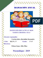 programacion anual ingles