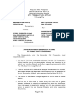 Motion For Extension of Time to File Counter Affidavit