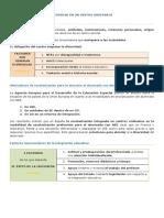 Resumen_Organización, Legislación, Recursos y Financiación de la Educación Especial