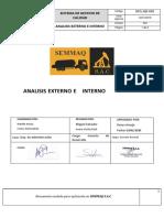 Analisis Externo e Interno de la Empresa - SEMMAQ